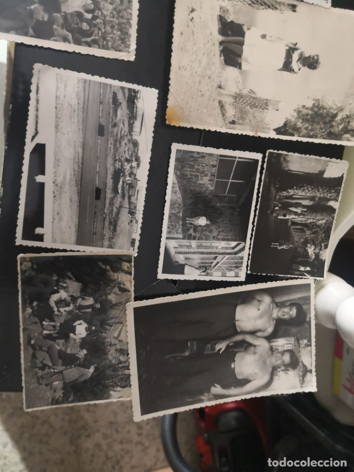 Fotografía antigua: 10 fotografías troqueladas años 60/70 algún lugar de Tenerife - Foto 5 - 172888935