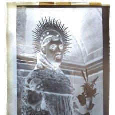 Fotografía antigua: NAVAS DE SAN ANTONIO SEGOVIA ANTIGUO CLICHÉ DE SAN ANTONIO DEL CERRO NEGATIVO EN CRISTAL. Lote 173413520