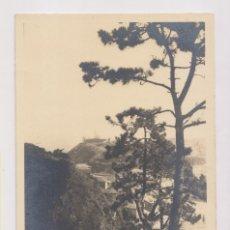 Fotografía antigua: FOTOGRAFÍA. LUARCA. VISTA TOMADA DESDE LAS ALTURAS DEL CHANO. FOTO MONTOTO. ASTURIAS. Lote 173879057