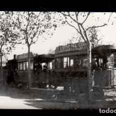 Fotografía antigua: S0002-23 ARCHIVO CUYAS BARCELONA- 1629- AÑO 1922 - UN AUTOBÚS - SERIE RETROSPECTIVA. Lote 24719653