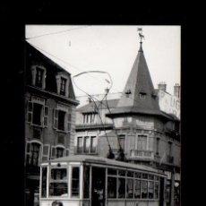 Fotografía antigua: S0002-17 ARCHIVO CUYAS BELFORD 1 (FRANCIA) - AÑO 1927 - UN TRANVÍA - SERIE RETROSPECTIVA. Lote 24719369
