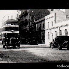 Fotografía antigua: S0002-27 ARCHIVO CUYAS BARCELONA- 1624 - AUTOBÚS DE SANT JUST - SERIE RETROSPECTIVA.. Lote 173959314