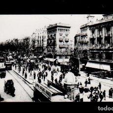 Fotografía antigua: S0002-28 ARCHIVO CUYAS BARCELONA- 1503- AÑO 1910 -LAS RAMBLAS, PLA DE LA BOQUERIA- SERIE RETROSPECT. Lote 24719958
