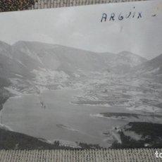 Fotografía antigua: ANTIGUA FOTOGRAFIA.VISTA DE ARGUIS HUESCA 1961. Lote 174044260