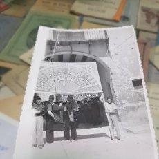 Fotografía antigua: ANTIGUA FOTOGRAFIA CAUDETE ALBACETE. Lote 174257420