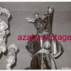 Fotografía antigua: SEMANA SANTA SEVILLA, ANTIGUA FOTOGRAFIA NTRO.PADRE JESUS DE LA SALUD, LOS GITANOS, 105X75MM. Lote 174296943