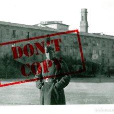Fotografía antigua: ZARAGOZA - AGOSTO DE 1937 - REALIZADA POR SOLDADO ITALIANO - FOTOGRAFÍA ORIGINAL 6 X 4,5 CM. Lote 174417044