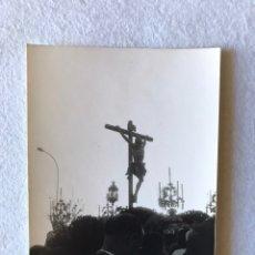 Fotografía antigua: SEMANA SANTA SEVILLA. CRISTO DE LA EXPIRACIÓN, HERMANDAD DEL CACHORRO, TRIANA.. Lote 174434472
