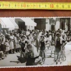Fotografía antigua: ALICANTE , FIESTAS DE SAN JUAN 1953. Lote 175226710