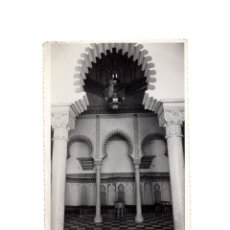 Fotografía antigua: TETUÁN.- SALA DE KAIDES. 11,5 X 18. FOTO CORTES.. Lote 175831379