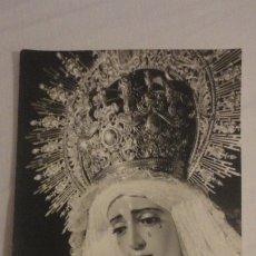 Fotografía antigua: ANTIGUA FOTOGRAFA.VIRGEN DEL REFUGIO.SAN BERNARDO.FOTO HARETON SEVILLA AÑOS 60. Lote 176086385