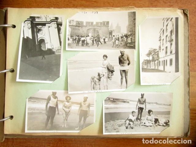 LOTE DE 133 FOTOGRAFÍAS. AÑOS 30. DIFERENTES VIAJES POR PAÍSES EUROPEOS. PORTUGAL, FRANCIA, ALEMANIA (Fotografía Antigua - Fotomecánica)