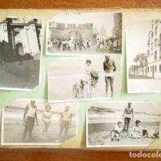 Fotografía antigua: LOTE DE 133 FOTOGRAFÍAS. AÑOS 30. DIFERENTES VIAJES POR PAÍSES EUROPEOS. PORTUGAL, FRANCIA, ALEMANIA. Lote 176107707