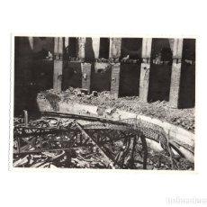Fotografía antigua: BADAJOZ.- TEATRO LOPEZ DE AYALA. DESTRUIDO POR LOS ROJOS EN LA GUERRA CIVIL. 13 X 17 CM. Lote 176302307
