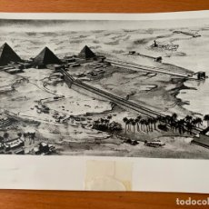 Fotografía antigua: FOTO ARCHIVO ARTE EGIPTO ABUDIR AO-0029. Lote 197972311