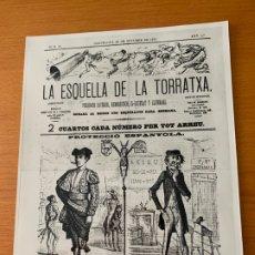 Fotografía antigua: FOTO ARCHIVO IMH BARCELONA LA ESQUELLA DE LA TORRATXA 1879 AO-0048. Lote 176375343