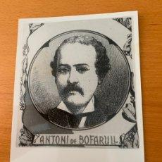 Fotografía antigua: FOTO ARCHIVO IMH BARCELONA ANTONI DE BOFARULL AO-0049. Lote 176375564