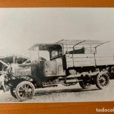 Fotografía antigua: FOTO ARCHIVO CAMION HISPANO SUIZA AÑOS 20 AG-0013. Lote 176378805
