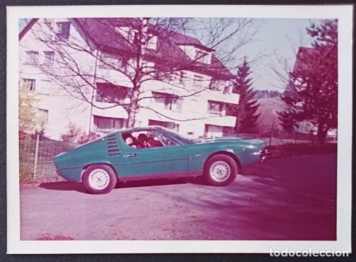CTC - COCHES: SIMCA MATRA - FOTOGRAFIA COCHES VINTAGE TOMADA EN LOS AÑOS 70? / 80? (Fotografía Antigua - Fotomecánica)