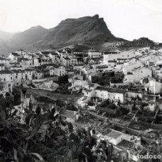 Fotografía antigua: FOTOGRAFIA AEREA-LOCALIDAD DE ALORA (MALAGA)-ORIGINAL 24 X 18-VER FOTO ADICIONAL DEL REVERSO .. Lote 176544905