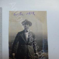 Fotografía antigua: FOTOGRAFÍA ANTIGUA ORIGINAL. PICO DEL BONIATO. CUBA 1919 (10 X 7 CM). Lote 176552248
