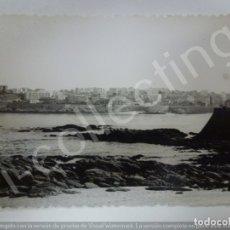 Fotografía antigua: FOTOGRAFÍA ANTIGUA. CORUÑA EN 1963. (10,3 CM X 7,2 CM). Lote 176735464