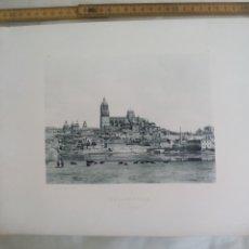 Fotografía antigua: SALAMANCA, VISTA GENERAL. 1893. IMPRESA POR HAUSER Y MENET ANTIGUA FOTOTIPIA.. Lote 176771435