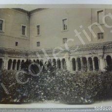 Fotografía antigua: FOTOGRAFÍA ANTIGUA. PATIO. (11 CM X 8,3 CM). Lote 176818250