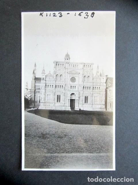 AÑO 1934. CARTUJA DE PAVIA. ITALIA. ANTIGUA FOTOGRAFÍA. 6,4 X 10,6 CM. (Fotografía Antigua - Fotomecánica)