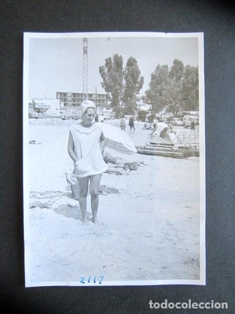 AÑO 1963. LA ALBUFERETA. ALICANTE. ANTIGUA FOTOGRAFÍA. 10,5 X 7,5 CM. (Fotografía Antigua - Fotomecánica)