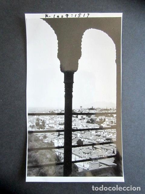 AÑO 1932. GRANADA. EL ALBAICÍN. ANTIGUA FOTOGRAFÍA. 11,3 X 7 CM. (Fotografía Antigua - Fotomecánica)