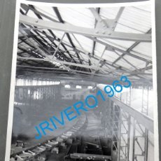 Fotografía antigua: MINA HERRERIAS, PUEBLA DE GUZMAN , HUELVA, 1954,MAGNIFICA,120X178MM. Lote 177063489