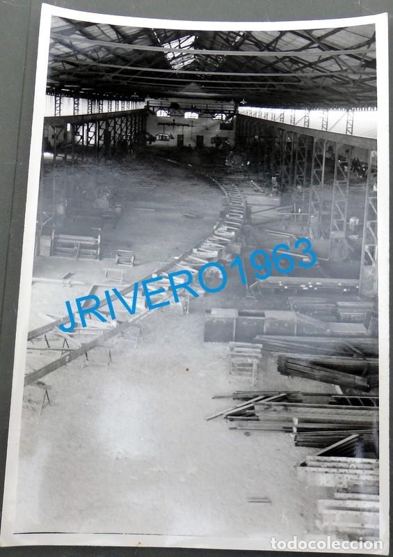 MINA HERRERIAS, PUEBLA DE GUZMAN , HUELVA, 1954,MAGNIFICA,120X178MM (Fotografía Antigua - Fotomecánica)