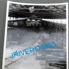 Fotografía antigua: MINA HERRERIAS, PUEBLA DE GUZMAN , HUELVA, 1954,MAGNIFICA,120X178MM. Lote 177063523