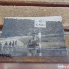 Fotografía antigua: FOTO FOTOGRAFIA RIO ALMONTE. Lote 177374603