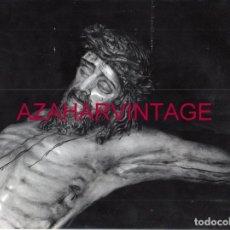 Fotografía antigua: SEMANA SANTA SEVILLA, ANTIGUO CRISTO DE LAS CINCO LLAGAS, LA TRINIDAD, 240X180MM. Lote 177510677