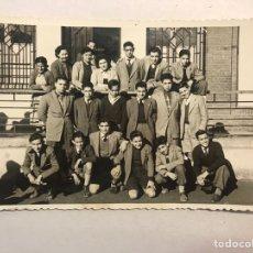 Fotografía antigua: PUERTO DE SAGUNTO (VALENCIA) FOTOGRAFÍA. CURSO ESCOLAR DEL SESENTA...? FOTO: GOMEZ (H.1960?). Lote 177587005