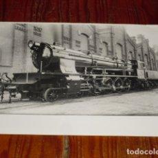 Fotografía antigua: FOTOGRAFIA LOCOMOTORA A VAPOR - . Lote 177588505