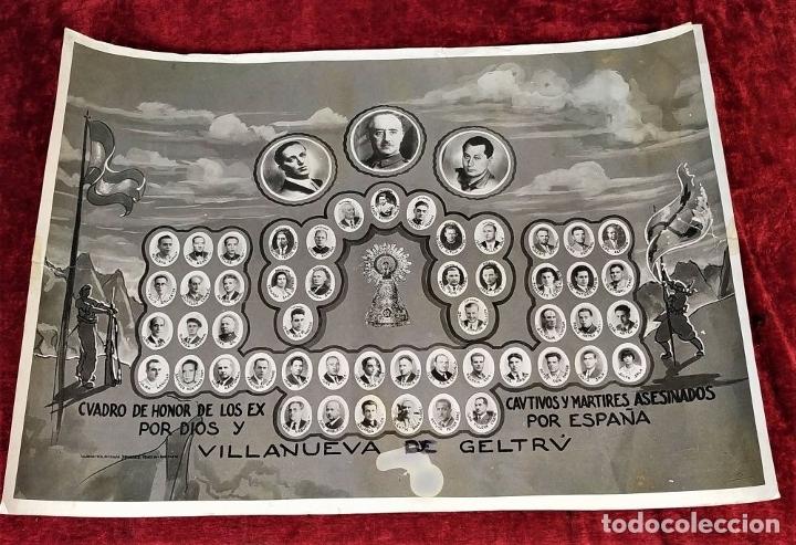 Fotografía antigua: VICTIMAS DE LA GUERRA CIVIL EN VILANOVA I LA GELTRU. FOTOGRAFÍA. SPINAZZI. VENECIA. XX - Foto 2 - 177590399