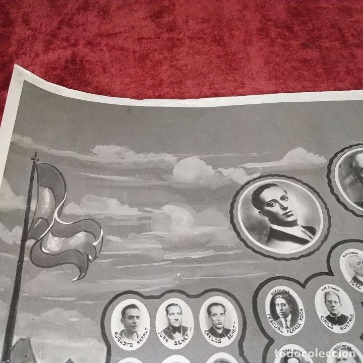 Fotografía antigua: VICTIMAS DE LA GUERRA CIVIL EN VILANOVA I LA GELTRU. FOTOGRAFÍA. SPINAZZI. VENECIA. XX - Foto 6 - 177590399