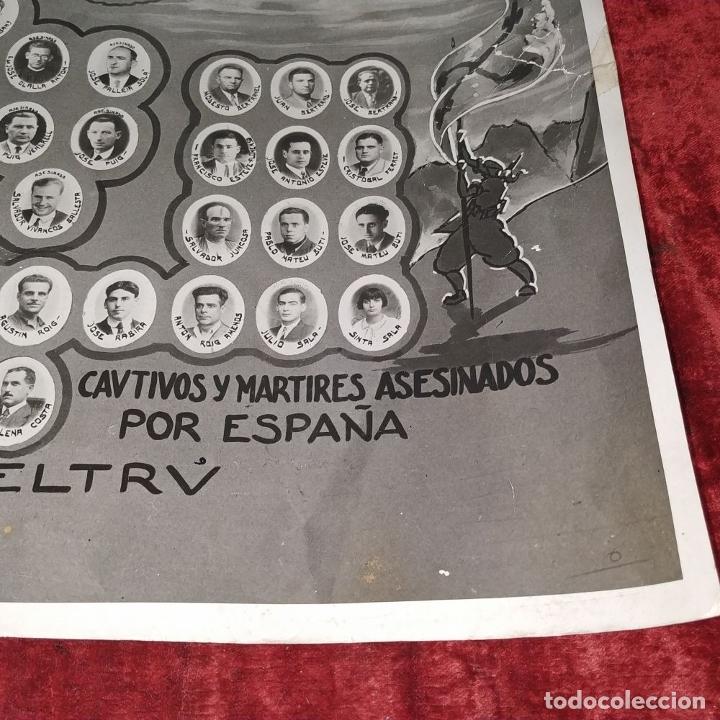Fotografía antigua: VICTIMAS DE LA GUERRA CIVIL EN VILANOVA I LA GELTRU. FOTOGRAFÍA. SPINAZZI. VENECIA. XX - Foto 9 - 177590399