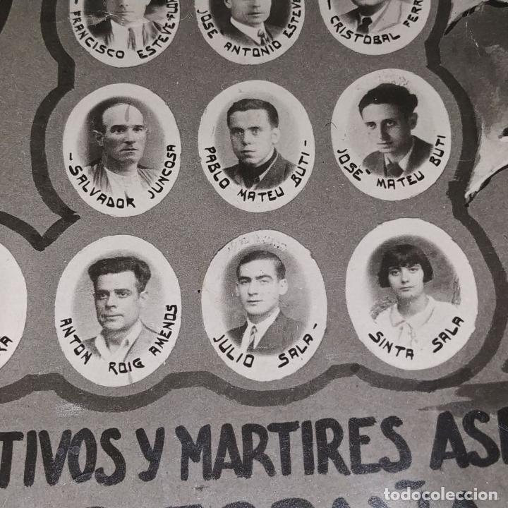Fotografía antigua: VICTIMAS DE LA GUERRA CIVIL EN VILANOVA I LA GELTRU. FOTOGRAFÍA. SPINAZZI. VENECIA. XX - Foto 16 - 177590399