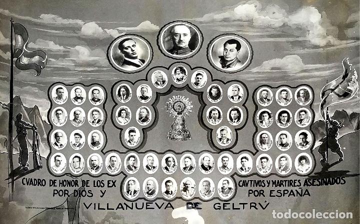 VICTIMAS DE LA GUERRA CIVIL EN VILANOVA I LA GELTRU. FOTOGRAFÍA. SPINAZZI. VENECIA. XX (Fotografía Antigua - Fotomecánica)