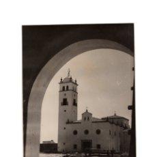 Fotografía antigua: BADAJOZ.- IGLESIA PARROQUIAL. FOTO PESINI.. Lote 177601593