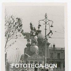 Fotografía antigua: LOTE 2 FOTOS ORIGINALES VALENCIA FIESTA DE LAS FALLAS FALLA AÑO 1955. Lote 177643363