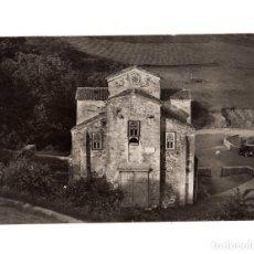 Fotografía antigua: OVIEDO.(ASTURIAS).- SAN MIGUEL LILLO, MONUMENTO NACIONAL. FOTO MENA. 16,5 X 12.. Lote 177647564
