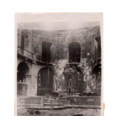 Fotografía antigua: ELCHE.(ALICANTE).- IGLESIA SANTA MARIA. 17,5X12.. Lote 177681577
