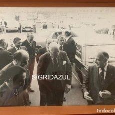Fotografía antigua: FOTO ARCHIVO FERIA DE MUESTRAS DE BARCELONA JOSEP TARRADELLAS 1978. Lote 177684262