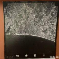 Fotografía antigua: FOTO AEREA BADALONA PAISAJES ESPAÑOLES AÑOS 60 AA-0009. Lote 177685952