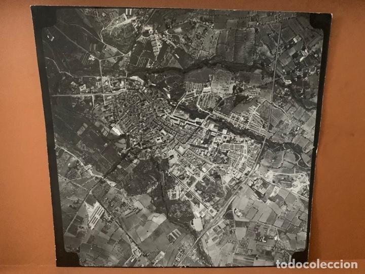 FOTO AEREA VALLS PAISAJES ESPAÑOLES AÑOS 60 AA-0009 (Fotografía Antigua - Fotomecánica)